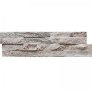 Ledgerstone Split Face Snowy Caramel Quartzite