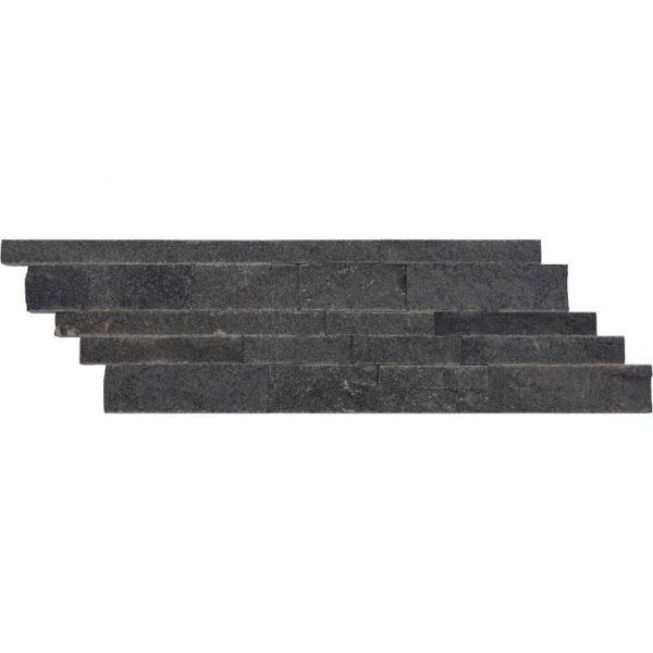 Black-Basalt-Split-Face-Tile-Z-Pattern-Black-Gray-Indoor-Outdoor-Wall-Backsplash-Tub-Shower-Vanity-QDIsurfaces