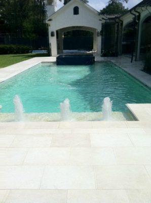 Freska Limestone Paver 16x24 Tumbled 6 White Gray Outdoor Floor Wall Pool Patio Backyard QDIsurfaces