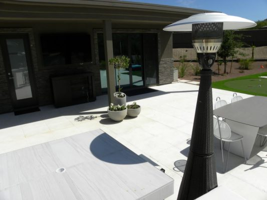 Freska Limestone Paver 24x24 Tumbled 12 White Gray Outdoor Floor Wall Pool Patio Backyard QDIsurfaces
