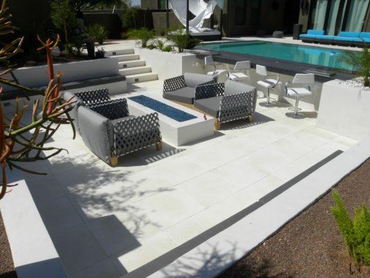 Freska Limestone Paver 24x24 Tumbled 13 White Gray Outdoor Floor Wall Pool Patio Backyard QDIsurfaces