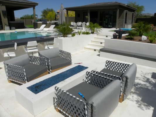Freska Limestone Paver 24x24 Tumbled 6 White Gray Outdoor Floor Wall Pool Patio Backyard QDIsurfaces