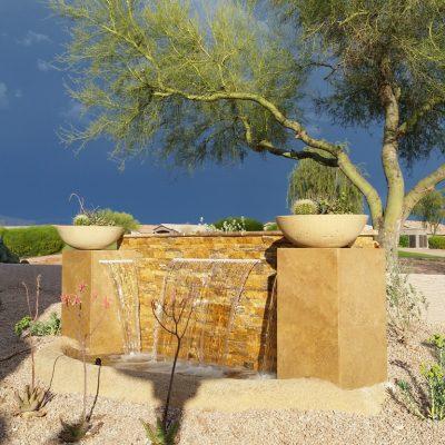 Gold Travertine Split Face Tile Z Pattern Split Face 3 Tan Brown Yellow Gold Indoor Outdoor Wall Backsplash Tub Shower Vanity QDIsurfaces