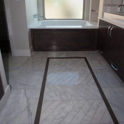 Lusso Carrara Marble Tile 24x24 Polished 6 Gray White Indoor Floor Wall Backsplash Tub Shower Vanity QDIsurfaces