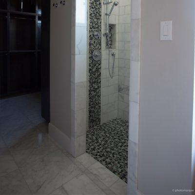 Lusso Carrara Marble Tile 24x24 Polished 7 Gray White Indoor Floor Wall Backsplash Tub Shower Vanity QDIsurfaces