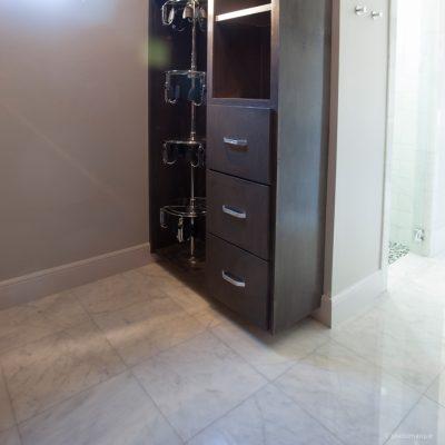 Lusso Carrara Marble Tile 24x24 Polished 9 Gray White Indoor Floor Wall Backsplash Tub Shower Vanity QDIsurfaces