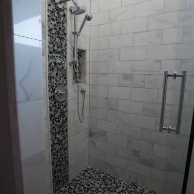 Lusso Carrara Marble Tile 6x12 Polished 3 Gray White Indoor Floor Wall Backsplash Tub Shower Vanity QDIsurfaces