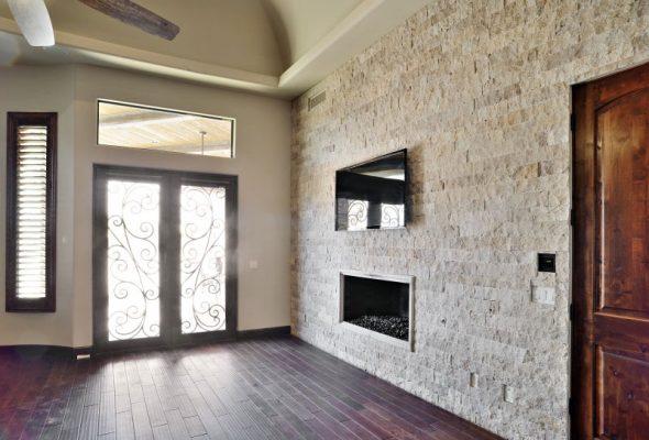 Noce Travertine Split Face Tile 4 x Random Length 4 Beige Cream Tan Brown Gray White Indoor Outdoor Wall Backsplash Tub Shower Vanity QDI