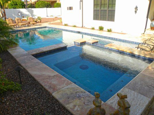 Sedona Fantastico Travertine Paver Versailles Pattern Tumbled 12 Tan Brown Beige Cream Red Pink White Gray Outdoor Floor Wall Pool
