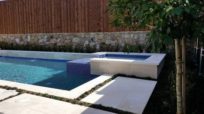 qd surfaces freska 16 24 3cm limestone pavers 12 24 5cm freska tumbled edge pool coping 12 12 honed tiles 1