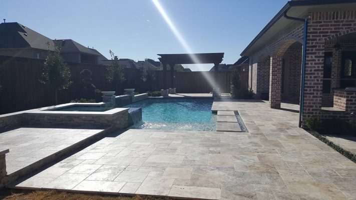 qdi surfaces silver versailles pattern pavers 3 size split face travertine slabs 18 49 2 inch unfilled honed pool coping 12 24 5cm straight edge 4