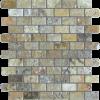Fantastico 1x2 Tumbled Travertine Mosaic Tile