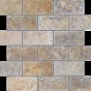 Fantastico 2x4 Tumbled Travertine Mosaic Tile