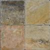 Fantastico 4x4 Tumbled Travertine Mosaic Tile