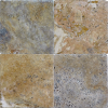 Fantastico 6x6 Tumbled Travertine Tile