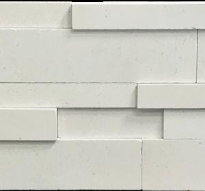 Freska Limestone Stack Stone Wall Cladding Panel Gray White Indoor Outdoor Wall Backsplash Tub Shower Vanity QDI