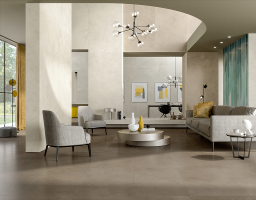 Prism Cotton and Suede 24x48 Rectified Porcelain Tile
