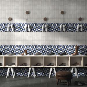 Fleur Janette 6x6 Waterline Porcelain Pool Tile