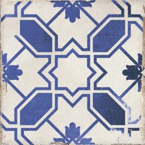 Village Caleta Blue 6x6 Waterline Porcelain Pool Tile