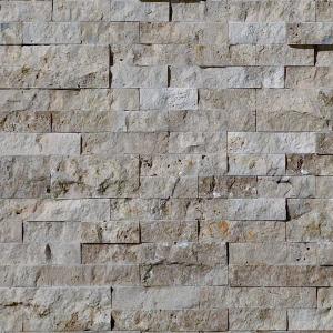 QDI Noce 2-Size Corner Piece Travertine Split-face Mosaic Tile